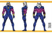 Robert Hunter (Earth-616) from Official Handbook of the Marvel Universe Master Edition Vol 1 2 0001