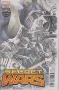 Secret Wars Vol 1 1 Gamestop Villains Sketch Variant