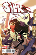 Silk Vol 1 7 Manga Variant