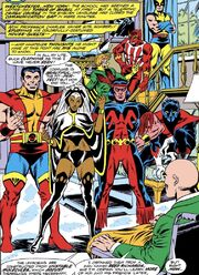 X-Men (Earth-616) from Giant-Size X-Men Vol 1 1 001