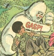 Yeti (Earth-57780) from Spidey Super Stories Vol 1 16 0001