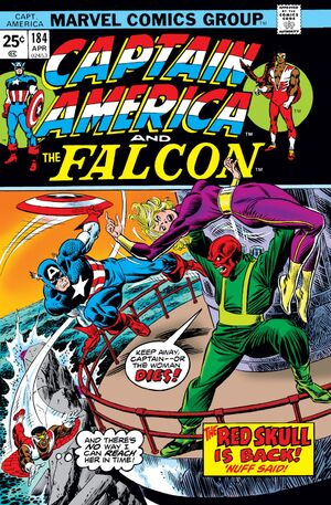 Captain America Vol 1 184