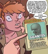 Doreen Green (Earth-616) and Deadpool's Guide to Super Villains Cards from Unbeatable Squirrel Girl Vol 1 1