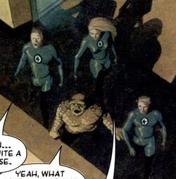 Fantastic Four (Earth-77119) from Silver Surfer Requiem Vol 1 1 001