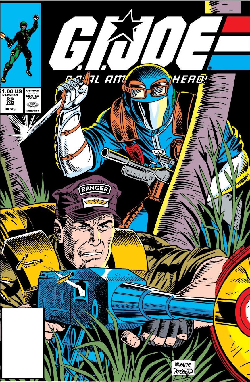 G.I. Joe A Real American Hero Vol 1 82