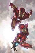Generations Iron Man & Ironheart Vol 1 1 Textless