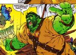 Greenskyn Smashtroll (Eurth) (Earth-616) from Avataars Covenant of the Shield Vol 1 1 001