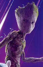 Groot (Earth-199999) from Avengers Infinity War poster 024