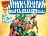 Heroes Reborn: The Return Vol 1 2