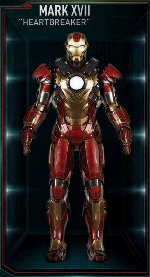 Attractive Iron Man Armor MK XVII (Earth 199999)