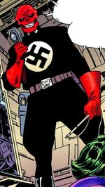 Johann Shmidt (Earth-3839) from Batman and Captain America Vol 1 1 002