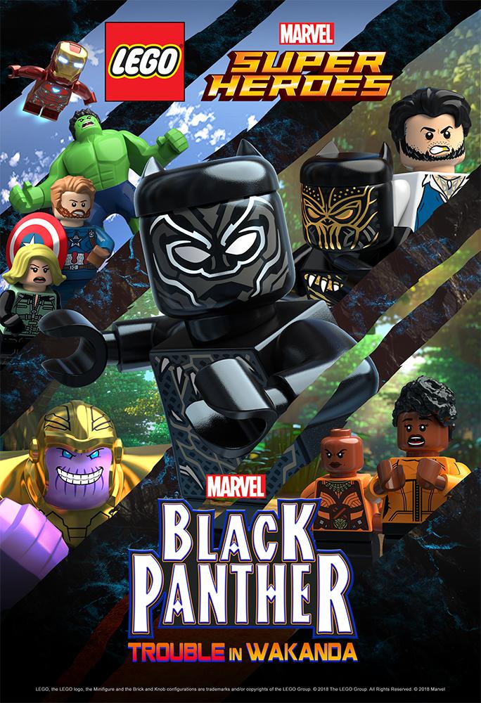 LEGO Marvel Super Heroes Black