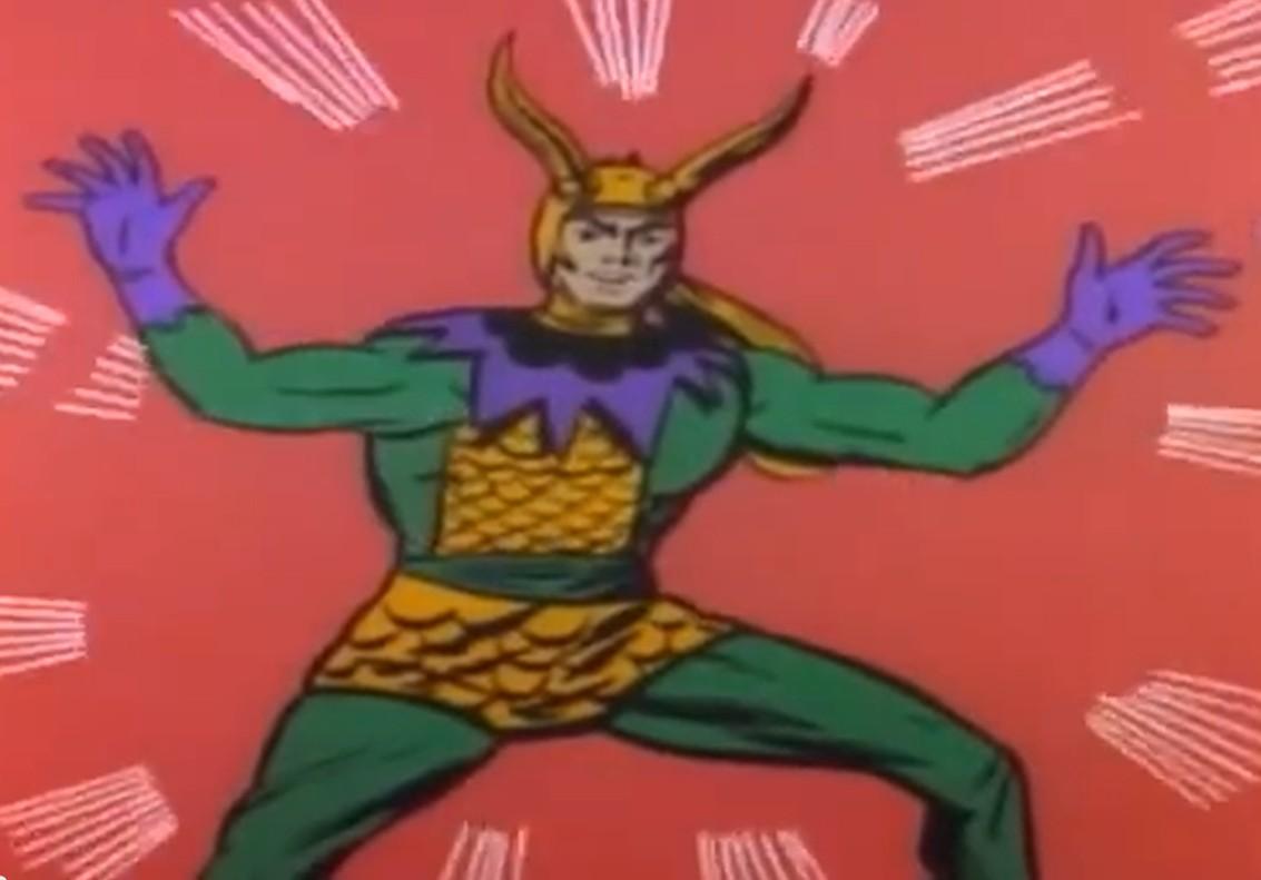 Risultato immagini per Loki 1966 the mighty thor