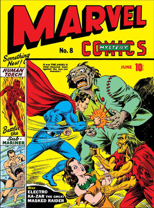 Marvel Mystery Comics Vol 1 8