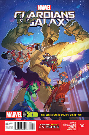 Marvel Universe Guardians of the Galaxy Vol 1 2
