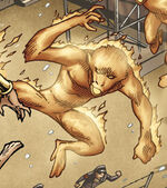 Simian Torch (Android) (Earth-8101) from Marvel Apes Vol 1 3 0002