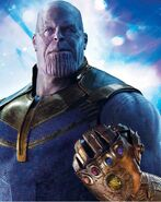 Thanos (Earth-199999) from Avengers Infinity War - The Official Movie Special 001