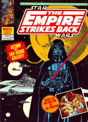 The Empire Strikes Back Weekly (UK) Vol 1 131