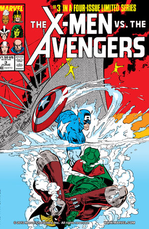 X-Men vs Avengers Vol 1 3