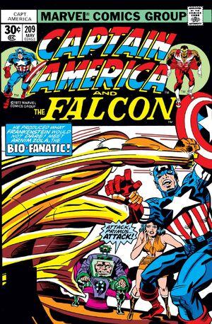 Captain America Vol 1 209