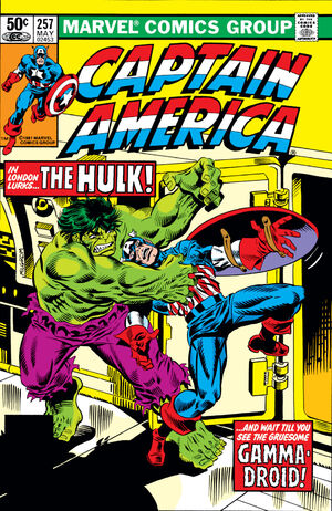 Captain America Vol 1 257