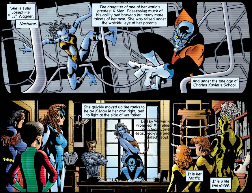 Other characters mentioned or seen existing in this time line are Moira  MacTaggert, who treats the young mutant Plague, a mutant healer who has  become an ...