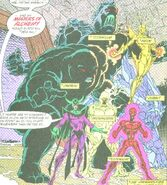 Esteban Corazón de Ablo (Earth-616) and Elements of Doom (Earth-616) from Avengers Collector's Edition Vol 1 1 0001