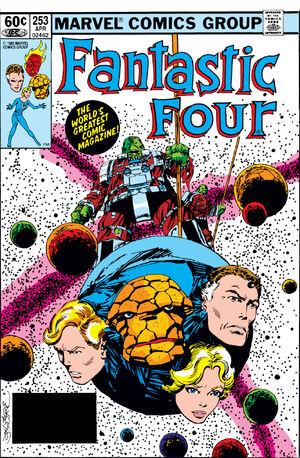 Fantastic Four Vol 1 253
