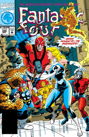 Fantastic Four Vol 1 388