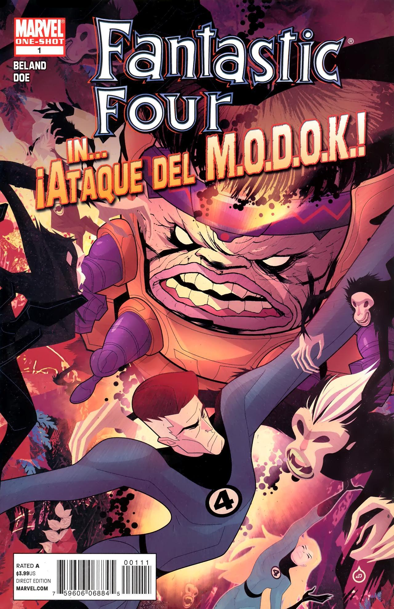 Fantastic Four in ¡Ataque del M.O.D.O.K.! Vol 1 1
