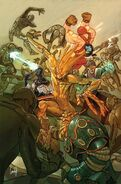 Guardians of Infinity Vol 1 2 Choo Variant Textless