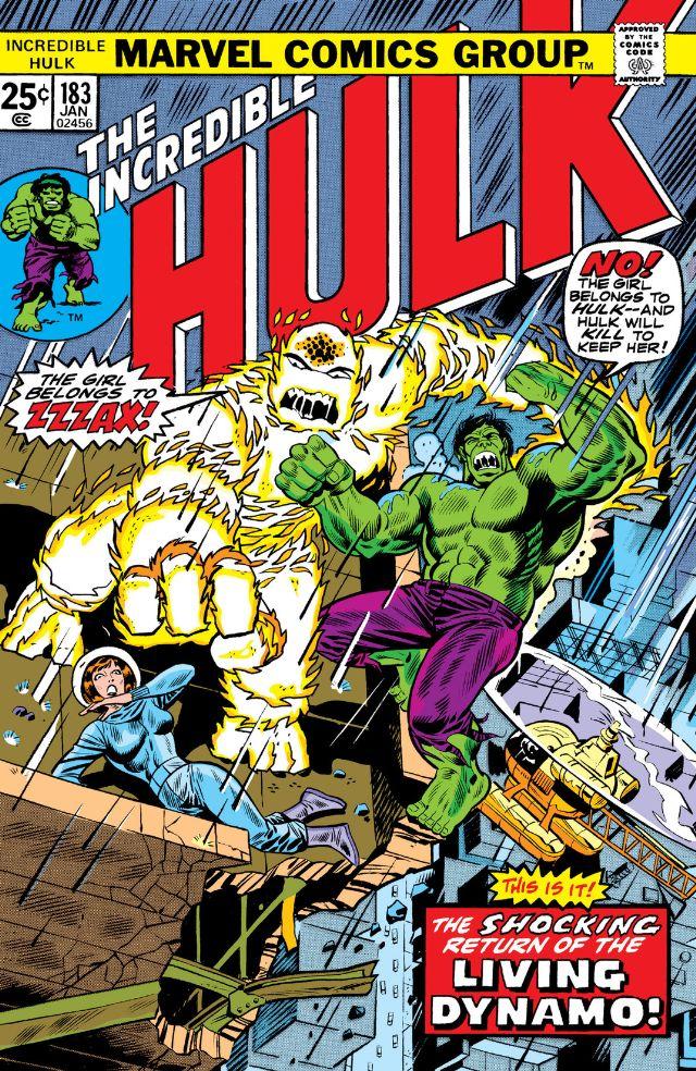 Incredible Hulk Vol 1 183