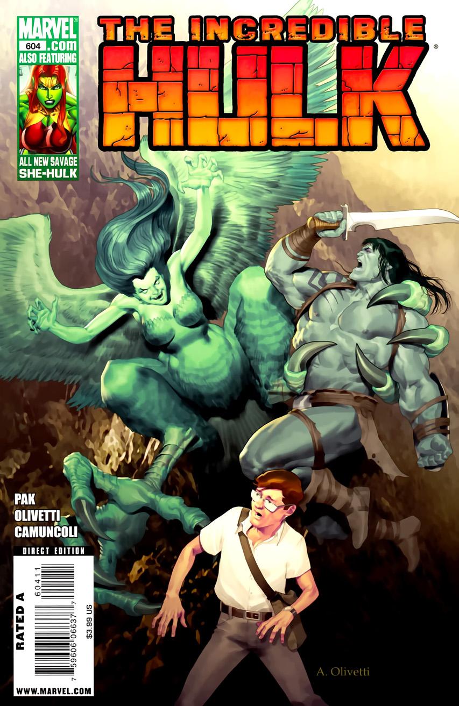 Incredible Hulk Vol 1 604