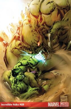 Incredible Hulks Vol 1 620 Textless