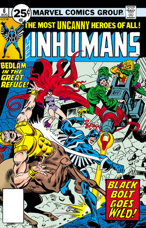 Inhumans Vol 1 6