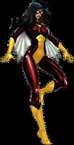 Jessica Drew (Earth-12131) from Marvel Avengers Alliance 001