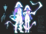 K'ythri (Earth-616) and Sharra (Earth-616) by Dauterman 001