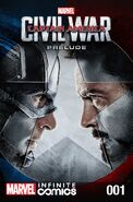 Marvel's Captain America Civil War Prelude Infinite Comic Vol 1 1