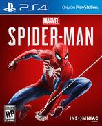 Marvel's Spider-Man (video game) box art 001
