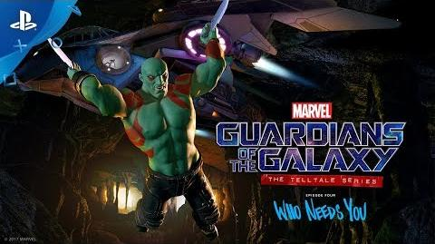 Marvel's Guardians of the Galaxy The Telltale Series – Episode 4 Trailer PS4