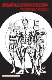 Nathaniel Grey (Earth-295), Clarice Ferguson (Earth-295) and Kevin Sidney (Earth-295) from X-Men Unlimited Vol 1 27
