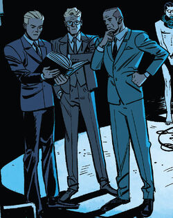 Scientists Guild (Earth-616) from Marvel Comics Vol 1 1000 001