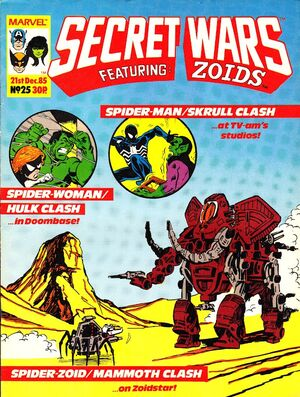 Secret Wars (UK) Vol 1 25