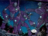 Sentinel Force (Earth-2301) and X-Men (Earth-2301) from X-Men Ronin Vol 1 4 0001