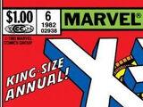 Uncanny X-Men Annual Vol 1 1982