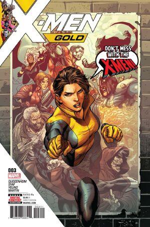 X-Men Gold Vol 2 3