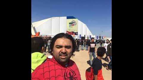 A day at Saudi Comic Con