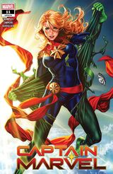 Captain Marvel Vol 10 11