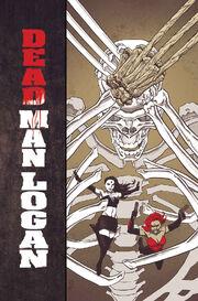 Dead Man Logan Vol 1 5 Textless