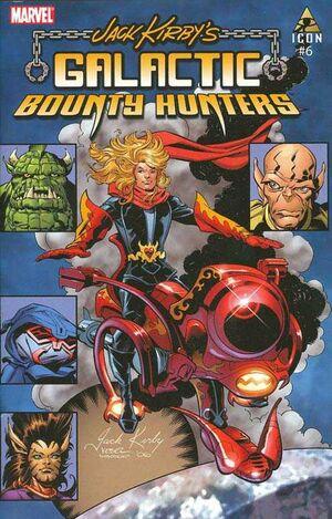 Jack Kirby's Galactic Bounty Hunters Vol 1 6